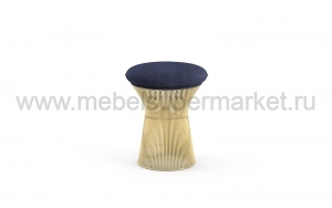 PLATNER_POUF_SMALL_GOLD