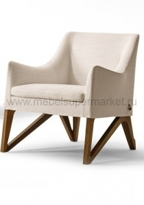 MOBIUS SMALL ARMCHAIR TESSUTTO /PELLE